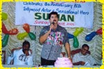 Krazi Chiks celebrating its 8th anniversary with Tollywood actor and sensational Hero Mr. Suman on 14th August, 2005, click here to see large picture.